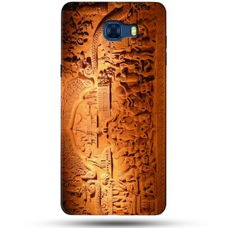 PREMIUM STUFF PRINTED BACK CASE COVER FOR SAMSUNG GALAXY C5 DESIGN 5431