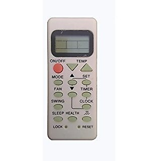 Upix AC Remote Model No  73, Compatible with Haier AC