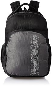 American Tourister Unisex 27 Ltrs Black Laptop Backpack