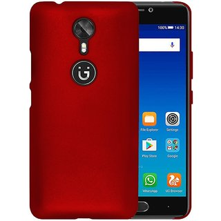 new style 6c628 73281 Gionee A1 Back Cover case with Free Camera Lens Combo Offer By Vinnx - Red