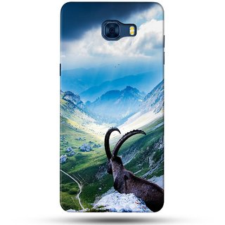 PREMIUM STUFF PRINTED BACK CASE COVER FOR SAMSUNG GALAXY C5 PRO DESIGN 5088