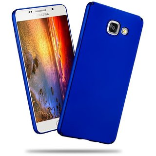 Samsung A7 2016 Back Cover case with Free Mobile Stand Combo Offer By Vinnx - Blue