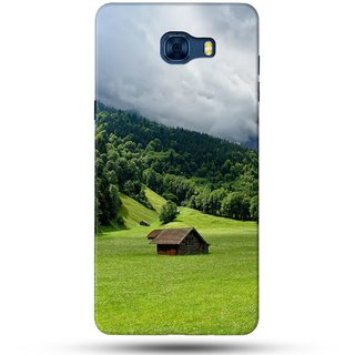 PREMIUM STUFF PRINTED BACK CASE COVER FOR SAMSUNG GALAXY C5 DESIGN 5064