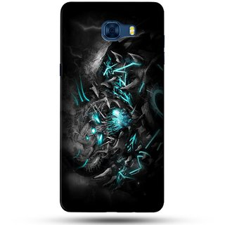 PREMIUM STUFF PRINTED BACK CASE COVER FOR SAMSUNG GALAXY C5 DESIGN 5711