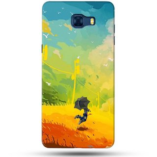 PREMIUM STUFF PRINTED BACK CASE COVER FOR SAMSUNG GALAXY C5 PRO DESIGN 5228