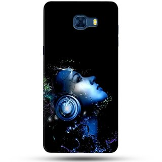 PREMIUM STUFF PRINTED BACK CASE COVER FOR SAMSUNG GALAXY C5 DESIGN 5717