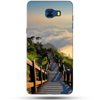 PREMIUM STUFF PRINTED BACK CASE COVER FOR SAMSUNG GALAXY C5 DESIGN 5136