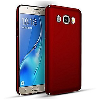 Samsung J7 Back Cover case with Free Mobile Stand Combo Offer By Vinnx - Red