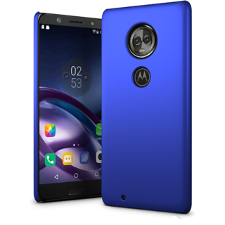 Moto G6 Back Cover case with Free Belt Combo Offer By Vinnx - Blue