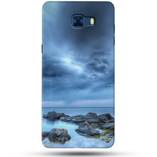 PREMIUM STUFF PRINTED BACK CASE COVER FOR SAMSUNG GALAXY C5 PRO DESIGN 5256