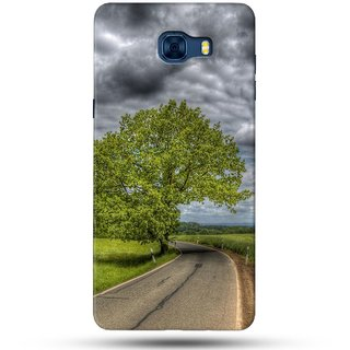 PREMIUM STUFF PRINTED BACK CASE COVER FOR SAMSUNG GALAXY C5 DESIGN 5268