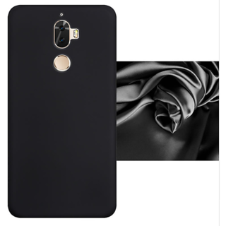 Lenovo K8 Plus Back Cover case with Free Sim Adapter Combo Offer By Vinnx - Black