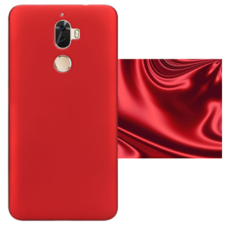 Lenovo K8 Plus Back Cover case with Free Sim Adapter Combo Offer By Vinnx - Red