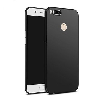 Redmi 5X Back Cover case with Free Sim Adapter Combo Offer By Vinnx - Black