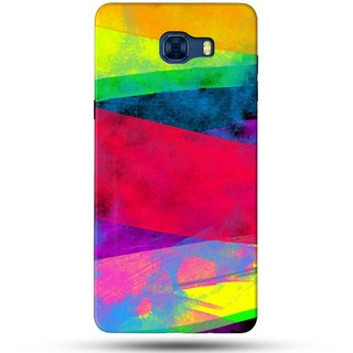 PREMIUM STUFF PRINTED BACK CASE COVER FOR SAMSUNG GALAXY C7 DESIGN 5828