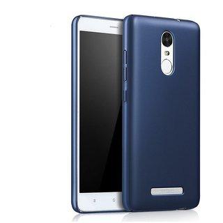 Redmi Note 3 Back Cover case with Free Sim Adapter Combo Offer By Vinnx - Blue