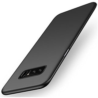 Samsung Note 8 Back Cover case with Free Sim Adapter Combo Offer By Vinnx - Black