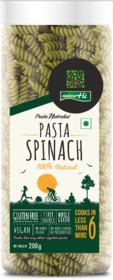 Spinach Gluten Free Pasta 200g by Nutrahi