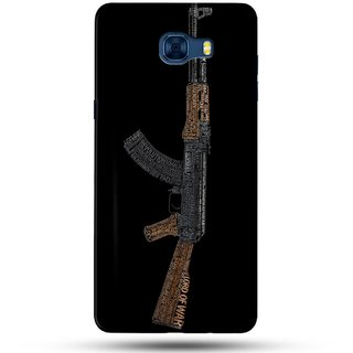 PREMIUM STUFF PRINTED BACK CASE COVER FOR SAMSUNG GALAXY C5 DESIGN 5786