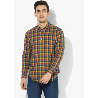 e2c4f29563 Buy Red Chief Multi Color Full Sleeves Casual Regular Fit Shirts (8110284  067) Online - Get 35% Off