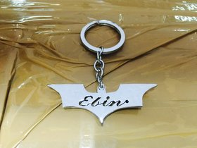 Personalise Hand Carved Key Chain With Your Name Inside Batman
