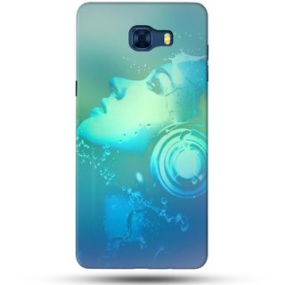 PREMIUM STUFF PRINTED BACK CASE COVER FOR SAMSUNG GALAXY C7 PRO DESIGN 5678