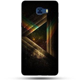 PREMIUM STUFF PRINTED BACK CASE COVER FOR SAMSUNG GALAXY C7 PRO DESIGN 5655