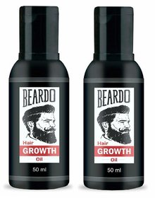 Pack Of 2 Beardo Hair Growth Oil 50Ml