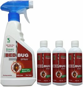 Green Dragon's Biodegradable Bed Bug Spray  Make Ready to Use 1420ml