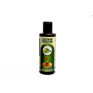 S & H 100 % pure & Natural Neem oil 50 ml