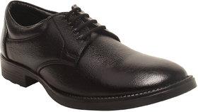 Corleone Men Black Synthetic Formal Shoe