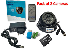 24 IR Night Vision Dome CCTV Camera (BNC Interface) Inb