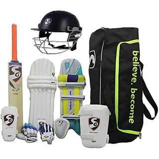 SG CRICKET KIT BAG WITH HELMET SIZE 5
