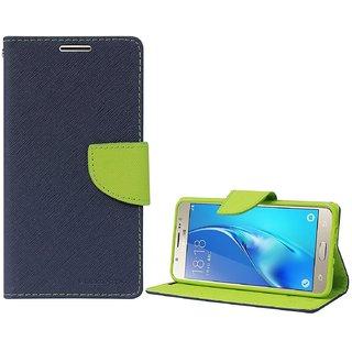 Samsung J3FlipCoverMercury Case (Blue&Green) By Vinnx
