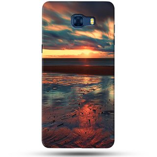 PREMIUM STUFF PRINTED BACK CASE COVER FOR SAMSUNG GALAXY C7 DESIGN 5260