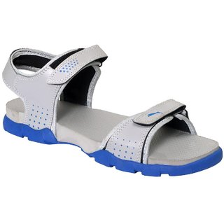 Feet Culture Men's Grey Nubuck Leather Sandals