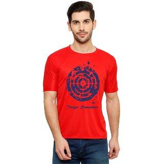 Mr.Mebino Cotton Round Neck Printed T-shirt