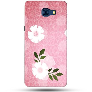 PREMIUM STUFF PRINTED BACK CASE COVER FOR SAMSUNG GALAXY C7 DESIGN 5533