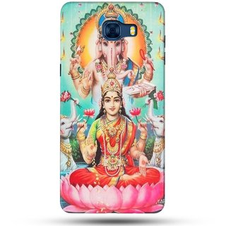 PREMIUM STUFF PRINTED BACK CASE COVER FOR SAMSUNG GALAXY C7 DESIGN 5518