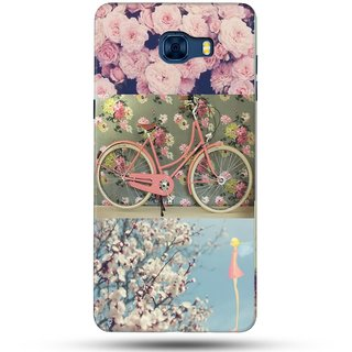 PREMIUM STUFF PRINTED BACK CASE COVER FOR SAMSUNG GALAXY C7 DESIGN 5556
