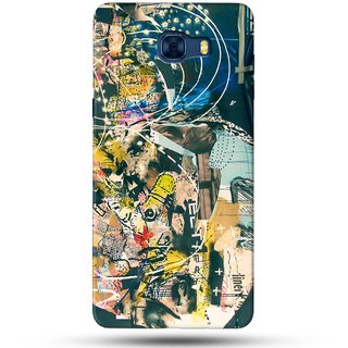 PREMIUM STUFF PRINTED BACK CASE COVER FOR SAMSUNG GALAXY C7 DESIGN 5577