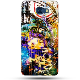 PREMIUM STUFF PRINTED BACK CASE COVER FOR SAMSUNG GALAXY C7 DESIGN 5580