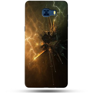 PREMIUM STUFF PRINTED BACK CASE COVER FOR SAMSUNG GALAXY C7 DESIGN 5664