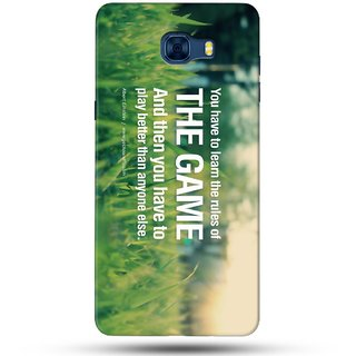 PREMIUM STUFF PRINTED BACK CASE COVER FOR SAMSUNG GALAXY C7 DESIGN 5635