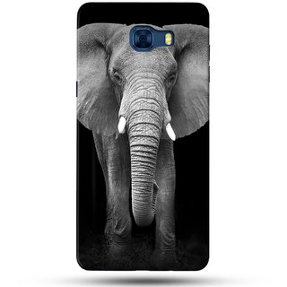 PREMIUM STUFF PRINTED BACK CASE COVER FOR SAMSUNG GALAXY C7 DESIGN 5752
