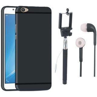 Motorola Moto G5s Cover with Selfie Stick and Earphones