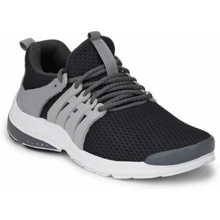 Port Men's Grey Mesh Casual Shoes
