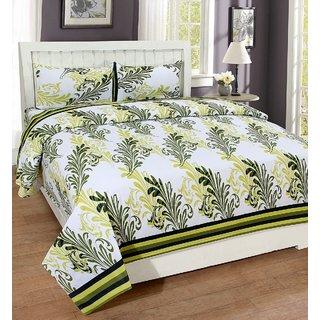 ZAIN Multicolor Cotton Double Bedsheet