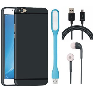 Lenovo K8 Ultra Slim Back Cover with Earphones, USB LED Light and USB Cable