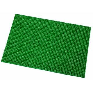 Zoroo Carpets PVC Doormat For Balcony, Lawn, Door(40 X 60 CM) -Green